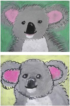 The Rolling Artroom: Pastel Koala Bears (1-3 Grade)