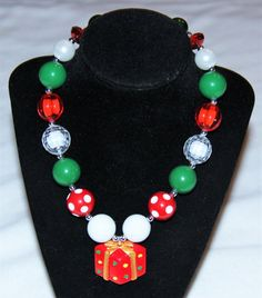 Cute Present Christmas Bubblegum Necklace #accessories #jewelry #new