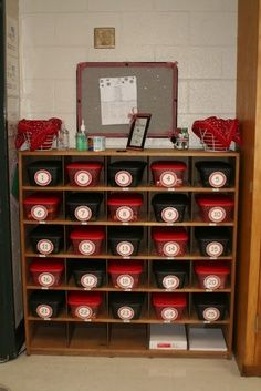 black and red classroom - Google Search