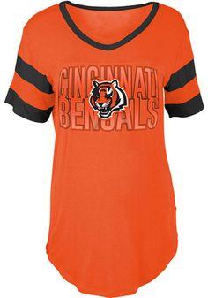 Cincinnati Bengals Womens Orange Training Camp T-Shirt