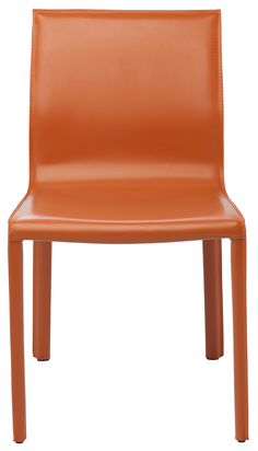 Contemporary Dining Chairs, Contemporary Design, Modern Design, Recycled Leather, Upholstered Dining Chairs, All Modern, Steel Frame, Side Chairs, Dining Area