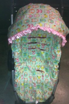 Stroller Cover with Canopy cover on Etsy, $75.00