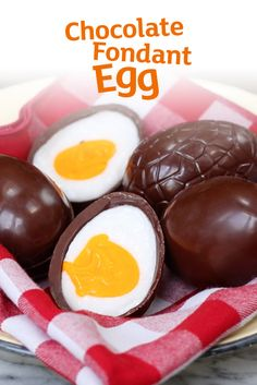 It's true. You can make your own fondant-filled chocolate eggs at home! Give it a go this Easter.  Psst, they're incredible.
