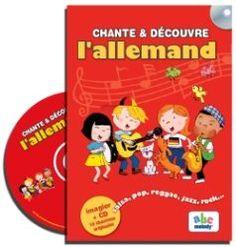 Livre-CD pour initier les enfants à l'allemand. www.linguatoys.com