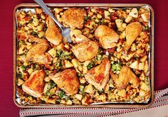 Chicken and Stuffing Recipe