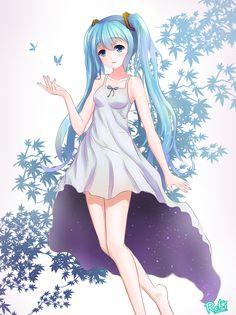 初音ミク/白夜ReKi@摸鱼号さん pixiv link is not found  shuushuu: Image #623800