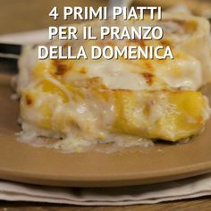 4 PRIMI PIATTI DELLA DOMENICA This classic egg salad recipe features foolproof hard-boiled eggs, homemade mayonnaise, mustard and crunchy mix-in's. Perfect for a light meal or sandwiches all year long. Italian Pasta Recipes, Baked Pasta Recipes, Baking Recipes, Salad Recipes, Chicken Recipes, Classic Egg Salad Recipe, Potato Salad With Egg, Homemade Mayonnaise, Tasty