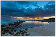 Once the holiday makers leave the coast, the locals come out to play. St Francis Bay photographer Clive Wright took this image of Granny's pool at sunrise. St Francis, The Locals, South Africa, Cape, Sunrise, African, Beach, Places, Holiday