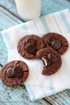 Peppermint Pattie Cookies | Crumbs and Chaos