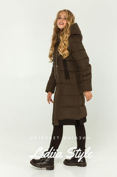 Пуховик хаки 211-Х LidiiaStyle Winter Jackets, Fashion, Winter Coats, Moda, La Mode, Fasion, Fashion Models, Trendy Fashion