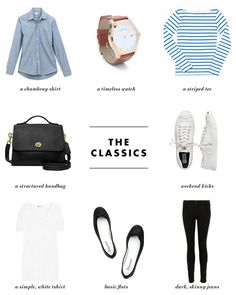 The Essential French Wardrobe Capsule A Parisian Style Starter Kit Style Essentials