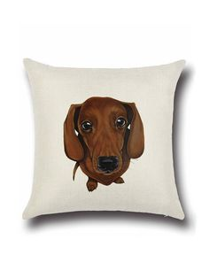Shop Cute Dog Print Square Pillow Cover online. SheIn offers Cute Dog Print Square Pillow Cover & more to fit your fashionable needs.
