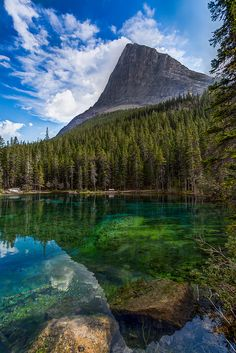 Grassi Lakes, Near Banff National Park, Alberta, Canada #exploreeveryday