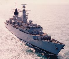 f 92 hms boxer type 22 broadsword class frigate royal navy seawolf sam missile
