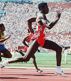 Carl+Lewis+1984+Olympics | Carl Lewis in 1984 | Great Summer Olympic Moments | Comcast.net Sports