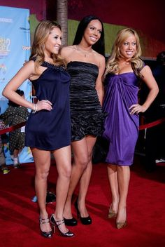 Bailon stated that she was spotted by a producer while on a field trip to Beth Israel, and was later offered a slot in the female trio Beth Israel, The Cheetah Girls, Killer Legs, Adrienne Bailon, Saved By The Bell, Glamour Magazine, Full Look, Early 2000s, Disney Stars