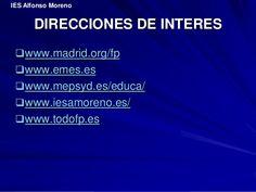 todo fp madrid - Buscar con Google Madrid, Google, Career Advice, Education System