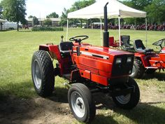IH 244 Combact Tractor