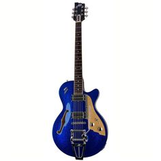 Duesenberg - STarplayer TV Blue Sparkle met case - Van De Moer Instruments