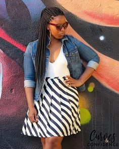 Pleated skirts are everywhere this fall! This classic piece has made a comeback and I am here for it. In my opinion, everyone needs a least one beautiful pleated skirt.  They are timeless and can be restyled for the office or after hours. Check out how I styled this skirt I thrifted two years ago in today's Weekend Wear post. (Link in profile)