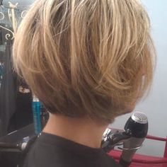 Tapered Bob, with layers. 2012' - Yelp