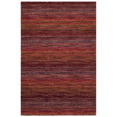 Safavieh HIM703A Himalaya Red and Multi Colored Area Rug  Himalaya Red and Multi Colored Area RugThe casual allure of contemporary Tibetan carpets is re…