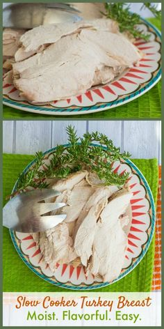This slow cooker turkey breast is injected with marinade for the most flavorful, easy turkey dinner you've ever made!