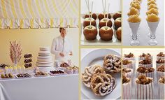 Classy Carnival Theme's.   Take classic carnival food to a whole new level.