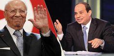 السبسي والسيسي يتبادلان دعوات الزيارة | البرقية التونسية