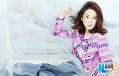 Chinese actress Liu Shishi graces fashion magazine   China Entertainment News