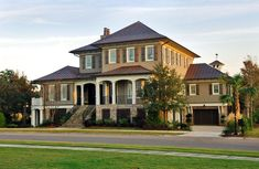 Home: Daniel Island Classic — Herlong & Associates Architecture + Interiors Custom Home Builders, Custom Homes, Residential Architect, American Houses, Traditional Exterior, My Dream Home, Dream Homes, 6 Years, Interior Architecture