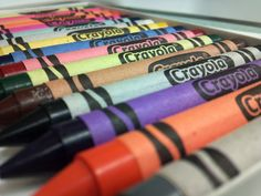 Original Crayola crayons the one and only Only the best will do