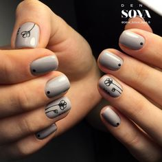 #Gorgeous Nail Art  for #Girls with #Short #Nails  ...