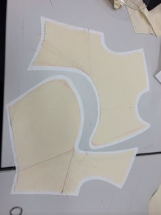 Tracing my flat pattern onto paper then adding seam allowance
