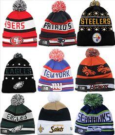 Winter Beanie NFL 2014 New Era 47 Ski Hat Cap Pom Beanies  NewEra b4e9de7280b