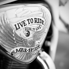 "Eagle Spirit Bike Emblem with the slogan ""Live To Ride, Ride To Live"" by Phillipp Arnold on 500px.  #bike #biker #harley #davidson #harleydavidson #harleylife #motorcycle #motorcycles #motorcyclesofinstagram #motorcyclelife #drive #driving #eagle #freedom #retro #ride #riding #shine #shining #soft #spirit #vehicle #vintage #augsburg #munich #münchen #stuttgart"