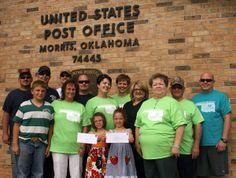 Morris Community Action donates to Quapaw tornado relief.