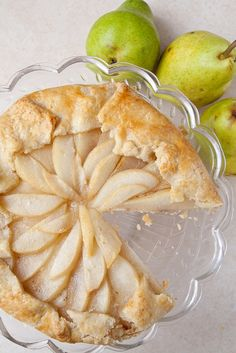 pear galette with vanilla custard and honey.this seems a little complicated...maybe i'll try it for bernie.. has anyone done this? is it easy? hard?
