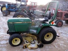 John Deere 755 tractor salvaged for used parts. This unit is available at All States Ag Parts in Downing, WI. Call 877-530-1010 parts. Unit ID#: EQ-25286. The photo depicts the equipment in the condition it arrived at our salvage yard. Parts shown may or may not still be available. http://www.TractorPartsASAP.com