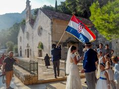 Shedding light on the mystery of a traditional Croatian wedding. From the church, the party, the gift - read what you need to know to survive unembarrassed. Croatian Wedding, Visit Croatia, Quirky Wedding, Wedding Pinterest, Beautiful Sunrise, Happily Ever After, Where To Go, Dream Wedding, Places To Visit