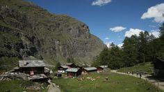 Zmutt hamlet, Zermatt, Switzerland