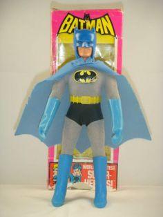 "All Original Mego Batman Removable Cowl RARE with Box WGSH 8"" Action Figure | eBay"
