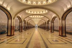 Moscow Metro - Mayakovskaya