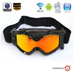 1080P WIFI HD CAMERA SKI GOGGLES