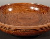 Large Exotic Bolivian Rosewood Salad Bowl #   5000.