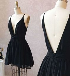 Cute Homecoming Dress,Black Homecoming Dress,Chiffon Homecoming Dress,Short Homecoming Dress,Little Black Dress - How To Be Trendy Modest Dresses, Cheap Dresses, Short Dresses, Cute Homecoming Dresses, Prom Dresses, Elegant Dresses For Women, Chiffon Dress, Lady, Marie