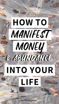 Learn how to manifest money & abundance into your life with these 4 transformative tips & techniques. Source by The post How To Manifest Money & Abundance Into Your Life appeared first on Verschiedene rechtliche Informationen. Manifestation Journal, Manifestation Law Of Attraction, Law Of Attraction Affirmations, Manifestation Meditation, Spiritual Meditation, Spiritual Awakening, Secret Law Of Attraction, Law Of Attraction Quotes, Attract Money