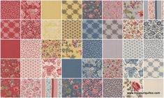 Le Bouquet Francais Layer Cake - French General - Moda Fabrics