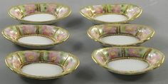 6 Hand Painted Open Salts Dips Cellars Gold Gild Vintage  http://www.ebay.com/itm/6-Hand-Painted-Open-Salts-Dips-Cellars-Gold-Gild-Vintage-/370602329669?pt=LH_DefaultDomain_0=item56499ec645#ht_3382wt_754