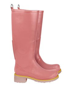 Take a look at this Coral Rain Boot by Ilse Jacobsen on #zulily today!